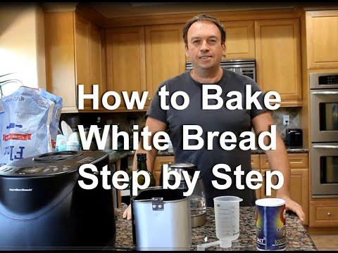 How To Bake White Bread in Bread Machine by Hamilton Beach