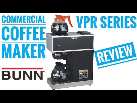 Bunn Commercial Coffee Maker REVIEW VPR Series How to Use AMAZON #1 CHOICE