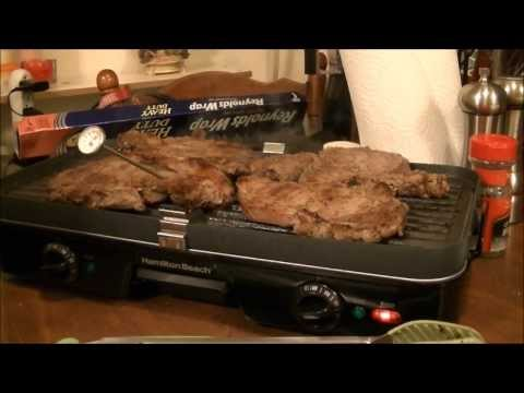 A Review and Ribeye's Grilled to Perfection on my Hamilton Beach 3in1 Grill / Griddle