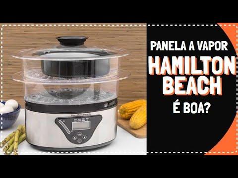 TESTAMOS A PANELA A VAPOR HAMILTON BEACH