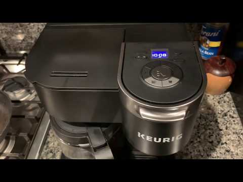 How to set the time on a Keurig K Duo coffee maker