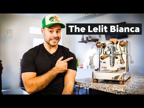 The BEST home ESPRESSO machine? (Lelit Bianca Review)