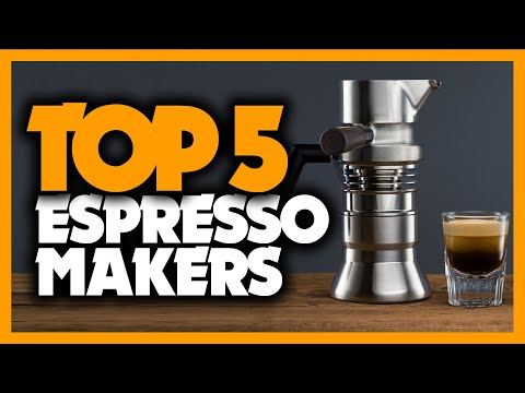 Best Espresso Machine in 2020 [Top 5 Picks For Home & Office Use]