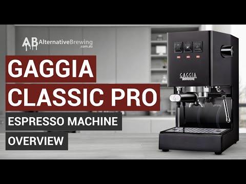 Gaggia Classic Pro Espresso Machine Overview
