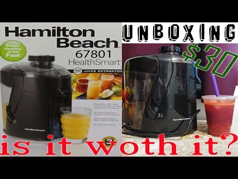 HAMILTON BEACH HEALTH SMART JUICER 67801