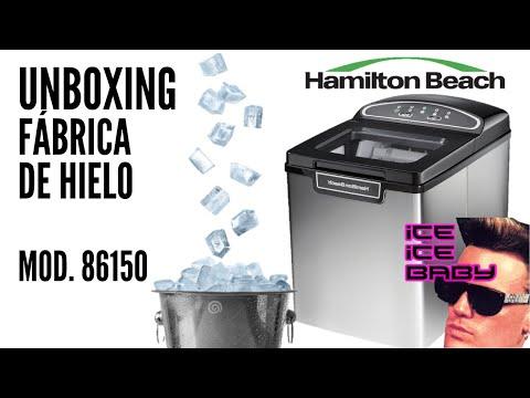 Unboxing Máquina Fábrica de Cubos Hielo Portatil Hamilton Beach Casa Negocio 86150 ¿cómo funciona?
