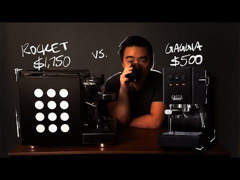$500 Espresso Machine Vs. $1750 Espresso Machine // Rocket vs. Gaggia
