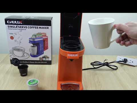 CHULUX Single Serve Coffee Maker Demo