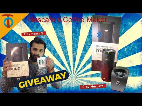 Nescafe E Smart Coffee Maker Review & Unboxing |Tech Organic|