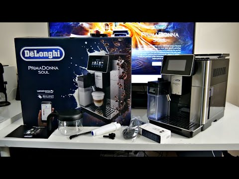Delonghi PrimaDonna Soul Coffee Machine  – Better than Costa / Starbucks? (Bean to Cup Freshness)