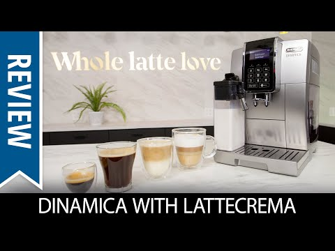 Review: DeLonghi Dinamica With LatteCrema Automatic Espresso Machine