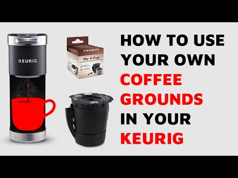 How to use Coffee Grounds in Keurig with My K-Cup Reusable Coffee Filter Unboxing and Review