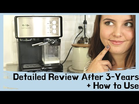 HOW TO USE – Mr. Coffee Cafe Barista + REVIEW After 3 YEARS | Starbucks Coffee AT HOME