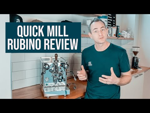 Quick Mill Rubino Coffee Machine Review – Italian Made Espresso Machine