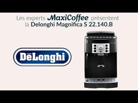 Delonghi Magnifica S 22.140.B | Machine à café grain | Le Test MaxiCoffee