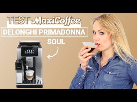 DELONGHI PRIMADONNA SOUL | Machine à café grain | Le Test MaxiCoffee