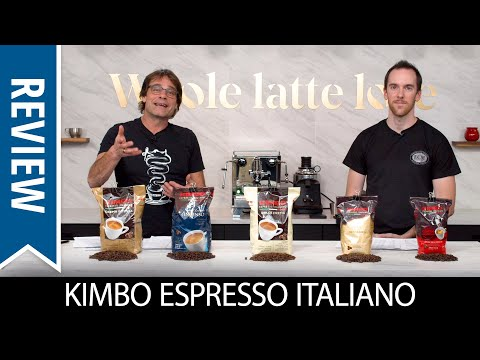 Review and Taste Test: Kimbo Espresso Whole Bean Coffee