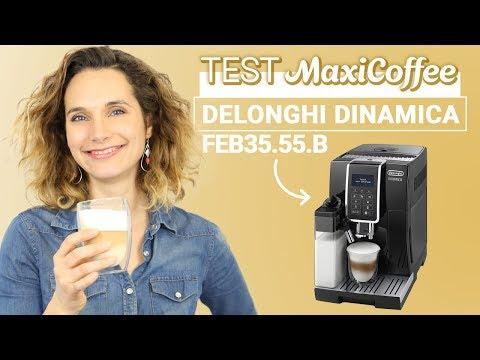 DELONGHI DINAMICA FEB3555.B | Machine à café grain | Le Test MaxiCoffee