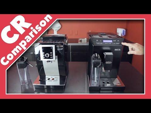 Delonghi Eletta Plus vs Magnifica S Cappuccino Smart | CR Comparison
