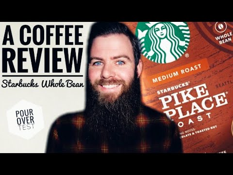 A Coffee Review ☕ Starbucks Pike Place (Whole Bean) #52 2020