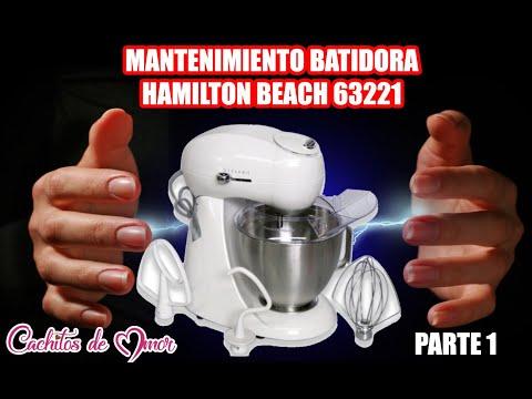 Mantenimiento a batidora hamilton beach 63221 parte 1