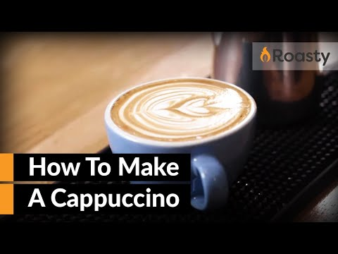 How To Make A Cappuccino At Home With An Espresso Machine  [Easy To Follow Cappuccino Recipe]