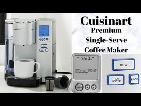 Coffee Maker Cuisinart Premium Single-Serve Coffee Maker