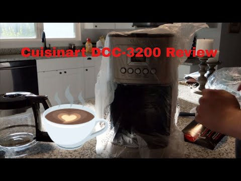 Snarf Reviews – Unboxing and Review of the  Cuisinart 14-Cup Programmable Coffee Maker (DCC-3200)