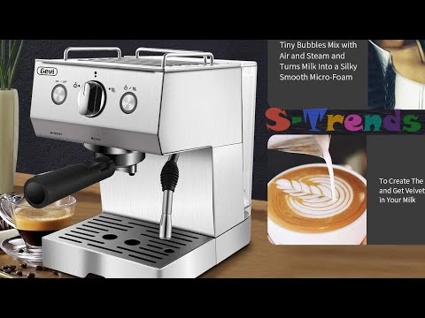 ☕ Best Espresso Machine Under $150: GEVI 2-in-1
