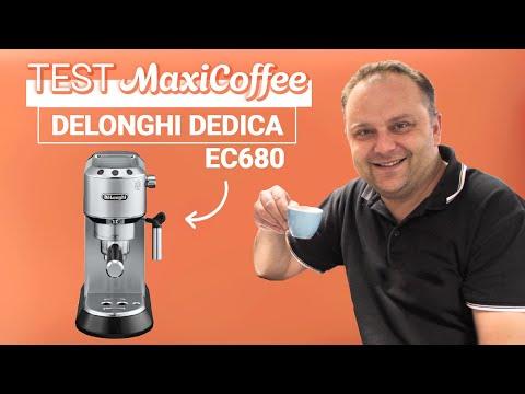 DELONGHI DEDICA EC680 | Machine expresso compacte | Le Test MaxiCoffee