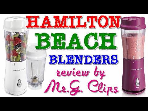 Hamilton Beach Personal Blenders – REVIEW!