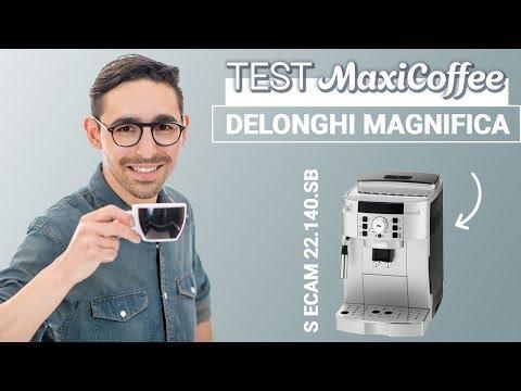 Delonghi Magnifica S ECAM 22.140.SB | Machine à café grain | Le Test MaxiCoffee