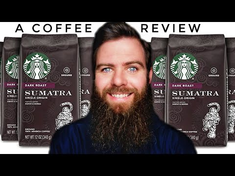 A Coffee Review ☕ Starbucks Sumatra Whole Bean Dark Roast 2020 #35