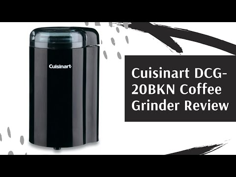 Cuisinart DCG-20BKN Coffee Grinder Review, 12 Cup Capacity, BLACK