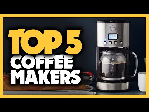 Best Coffee Makers in 2020 [Top 5 Picks For Any Budget]
