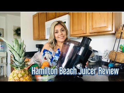 Hamilton Beach Juicer Review