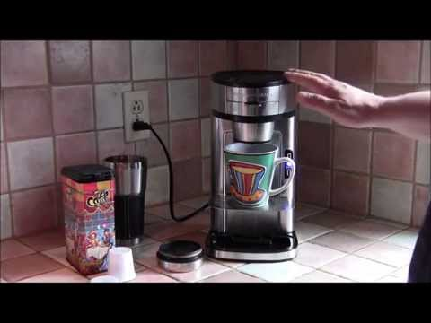 "Hamilton Beach ""The Scoop"" single serve brewer"
