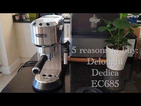 5 reasons to buy: Delonghi Dedica EC685