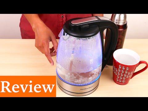 Hamilton Beach 40865 Glass Electric Kettle, 1.7-Liter Review