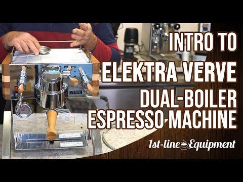 Intro: Elektra Verve Espresso Machine
