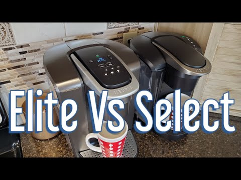 Keurig's K-Elite vs The K-Select: What's The Difference Anyway?