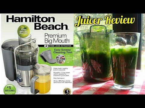 Hamilton Beach Premium Big Mouth Juicer Review