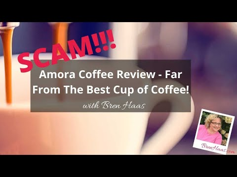 Amora Coffee Review – Far From The Best Cup of Coffee!