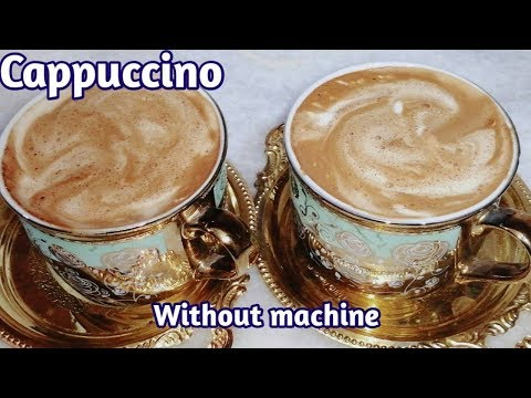 Coffee banane ka tarika – Without machine Nescafe coffee recipe | Cappuccino Coffee