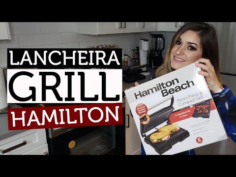 Lancheira Grill Hamilton Beach