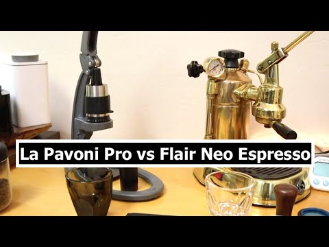 La Pavoni Espresso Machine vs Flair Espresso Maker