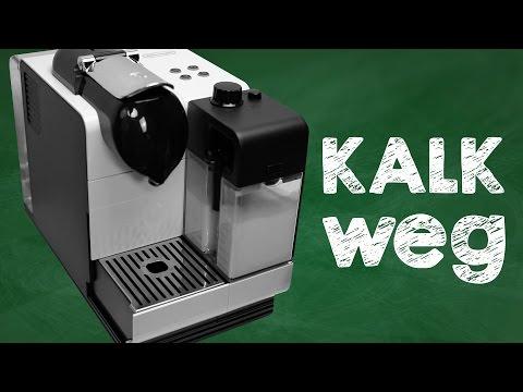 Nespresso Lattissima+ entkalken, Anleitung für DeLonghi Kaffeemaschine