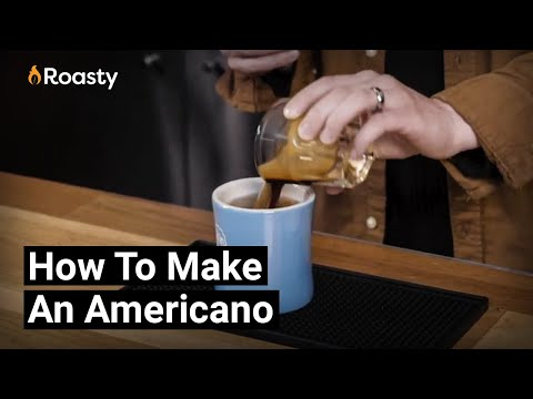 Americano Coffee Recipe: The Easy Way To Make An Americano At Home