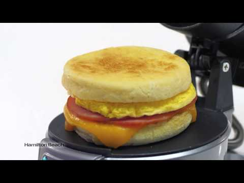 Hamilton Beach Breakfast Sandwich Maker – Teaser (ALT)