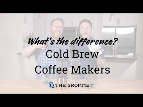 What's the Difference? | Best Cold Brew Coffee Makers